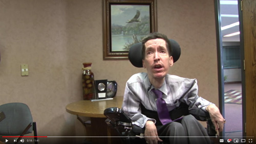 Mesa eye-tracking software company helps empower those with disabilities